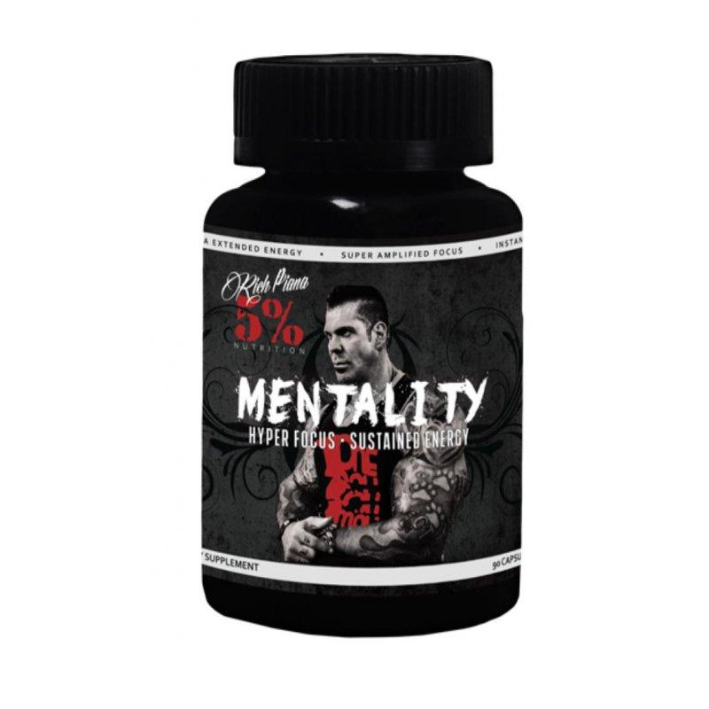 MENTALITY (Rich Piana 5% Nutrition) (90 капс)