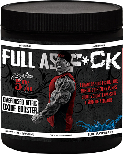 FULL AS FUCK (Rich Piana 5% Nutrition) (30 порц)