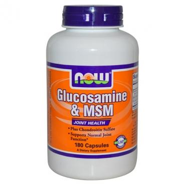 Glucosamine & MSM (NOW) (60 капс)